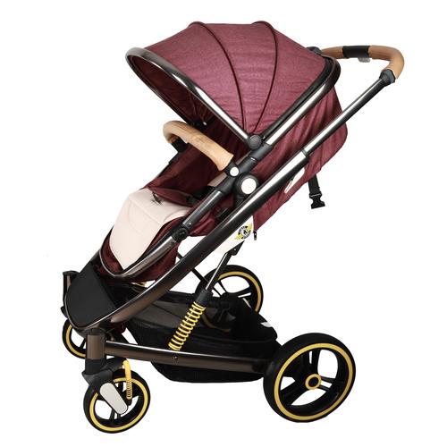 ست کالسکه و کریر فرست رايدرز مدل چری كد FR-CHR1 به همراه ساک لوازم کودک