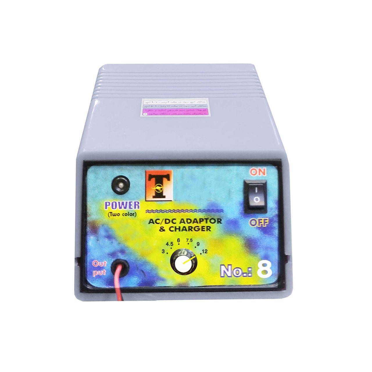 شارژر باتری خودرو مدل NT_08_volume