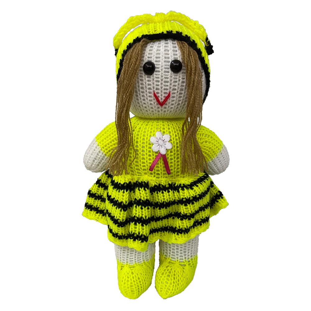 خرید                      عروسک بافتنی مدل دختر کد 051