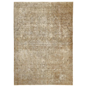 فرش دستبافت رنگ شده پنج متری طرح وینتیج کد 535673