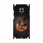 برچسب پوششی ماهوت مدل Pizza-FullSkin مناسب برای گوشی موبایل شیائومی Redmi Note 9 Pro