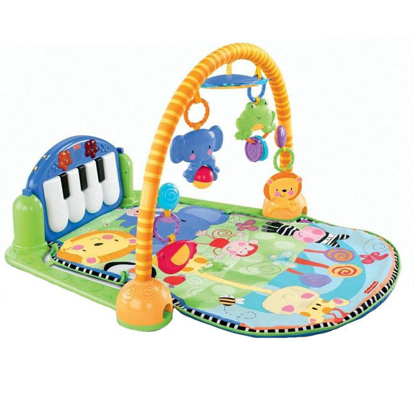 تشک بازی فیشر پرایس مدل Kick & Play Piano Gym کد W2621