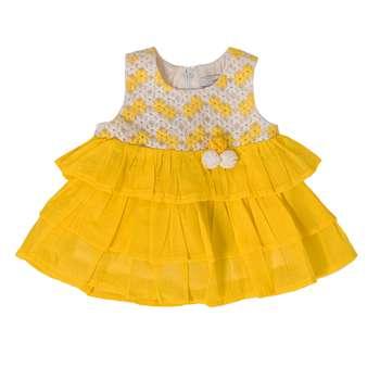 پیراهن نوزادی فیورلا مدل 21008