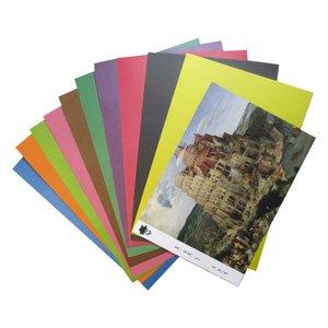 مقوا رنگی تیما مدل Bruegel سایز A4 بسته 10 عددی