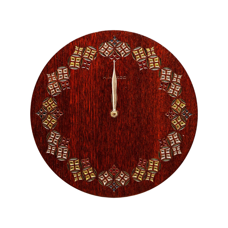 ساعت چوبی مدل هور