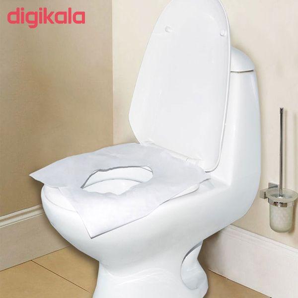 کاور یکبار مصرف توالت فرنگی کد1 بسته 30 عددی  main 1 1