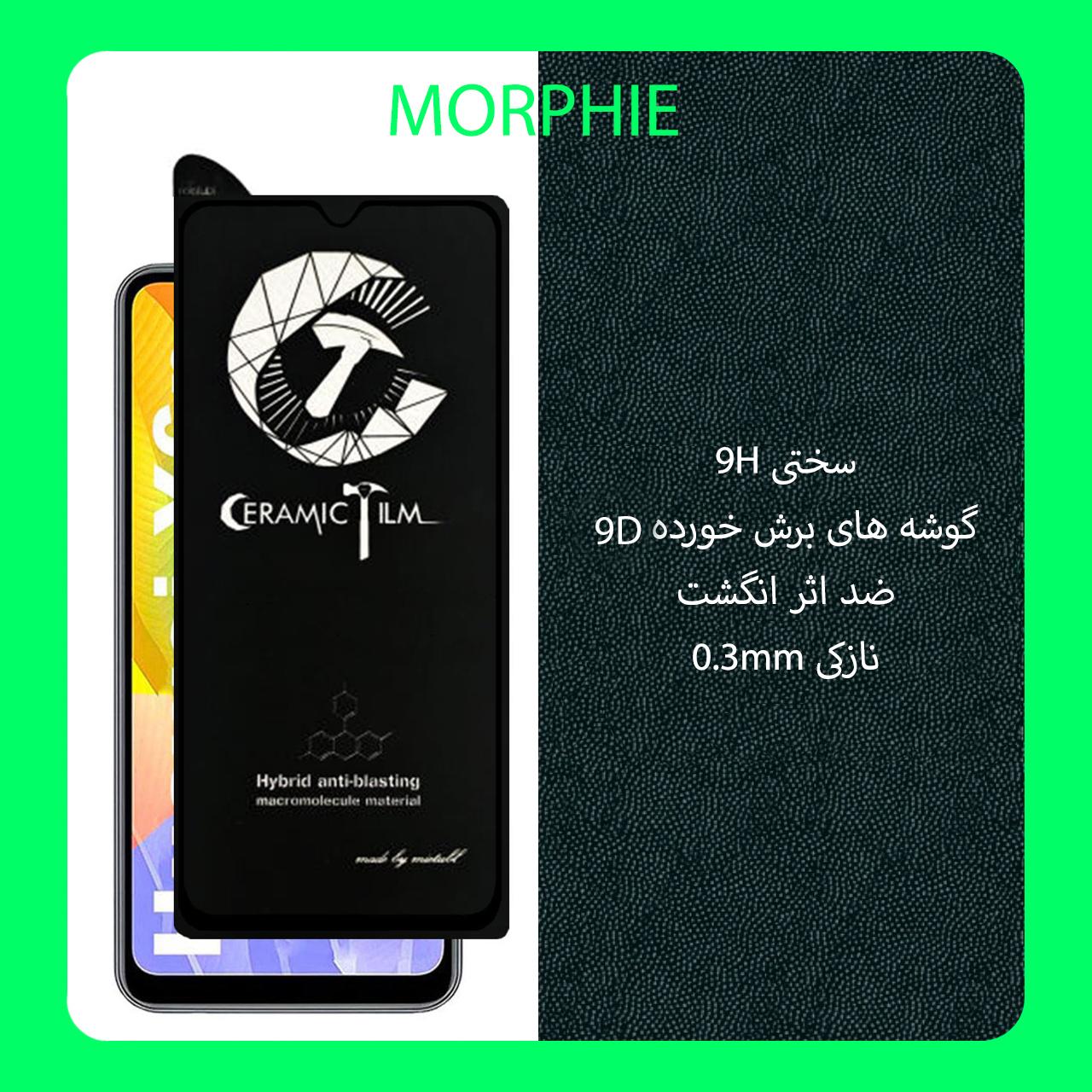 محافظ صفحه نمایش سرامیکی مورفی مدل MEIC_2 مناسب برای گوشی موبایل هوآوی Y6P بسته 2 عددی