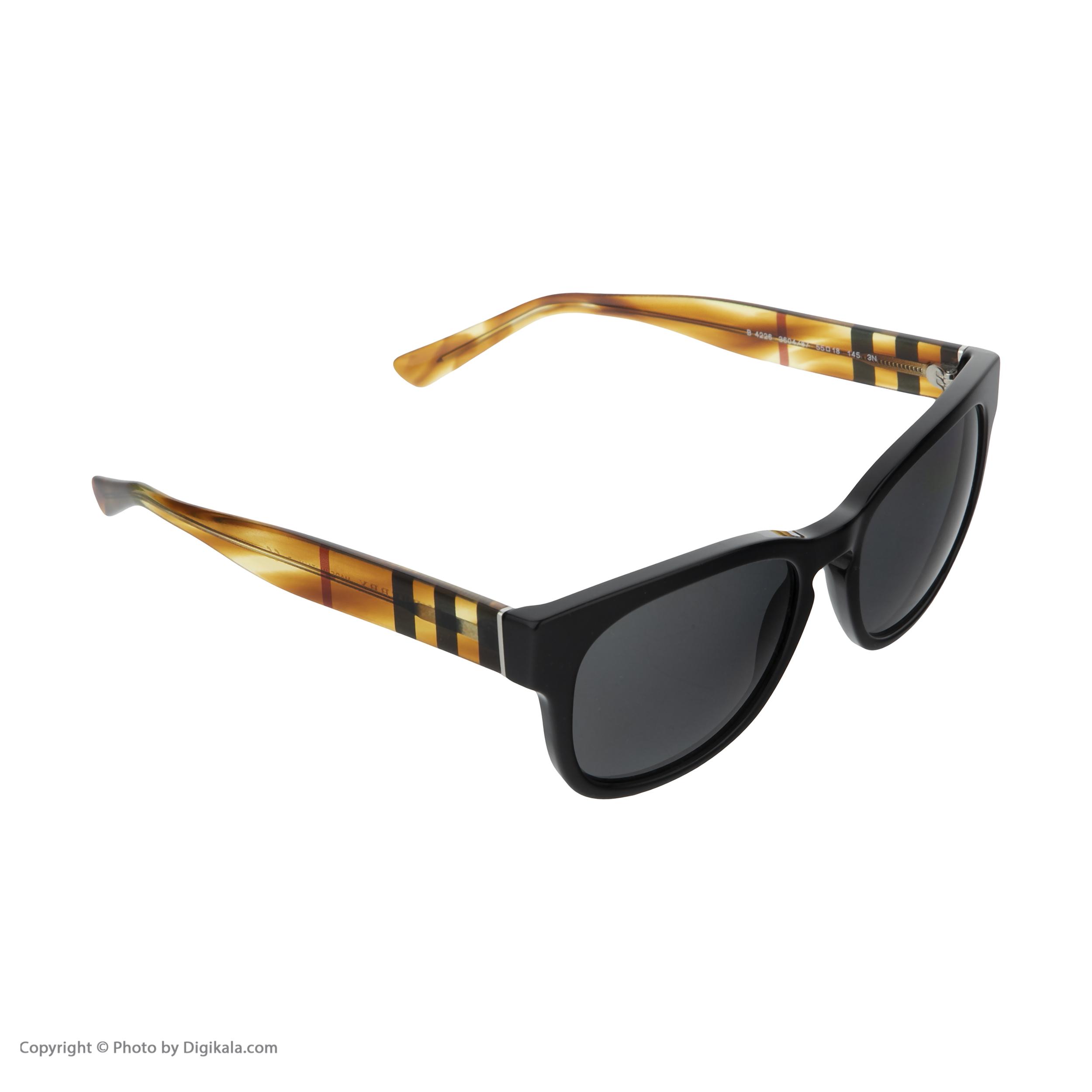 عینک آفتابی مردانه بربری مدل BE 4226S 360487 55 -  - 4