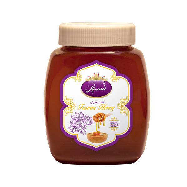 عسل زعفرانی تسنیم - 1 کیلوگرم