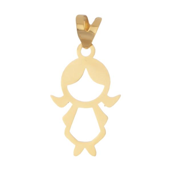 آویز گردنبند طلا 18 عیار زنانه مایا ماهک مدل MM1141