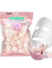 قرص ماسک ورقه ای صورت کلی مدل k50 بسته 50 عددی -  - 3
