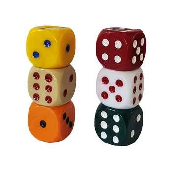 تاس بازی کد tm03 مجموعه 6 عددی