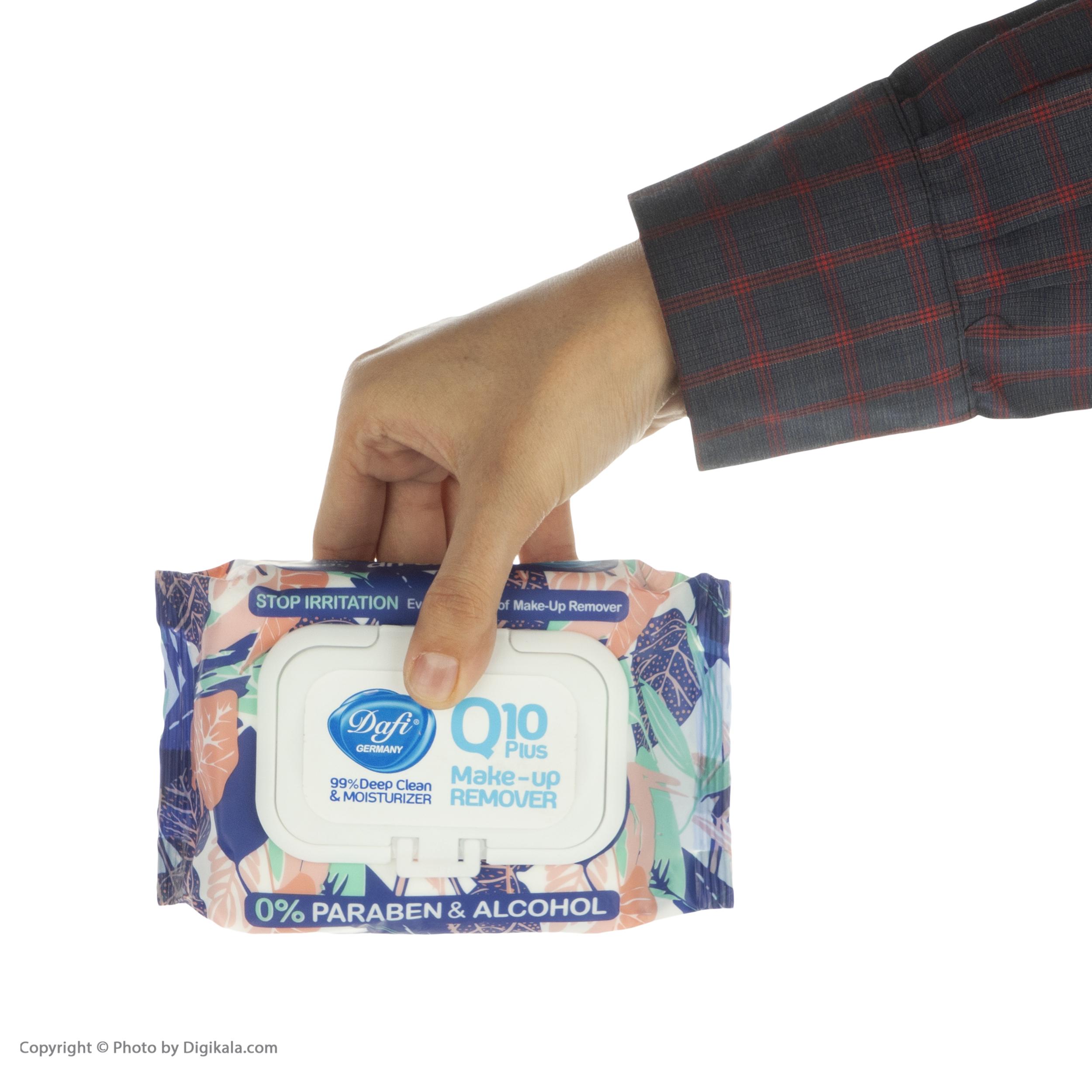 دستمال مرطوب دافی مدل Q10 بسته 50 عددی main 1 4