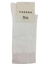 جوراب زنانه کادنو کد CAL1045 رنگ سفید بسته 3 عددی -  - 2