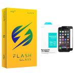 محافظ صفحه نمایش سرامیکی مات فلش مدل +HD مناسب برای گوشی موبایل اپلIphone 6 plus