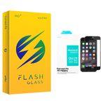 محافظ صفحه نمایش سرامیکی مات فلش مدل +HD مناسب برای گوشی موبایل اپل Iphone 7 plus