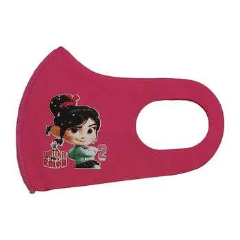 ماسک تزیینی صورت بچگانه طرح Wreck-It Ralph کد 30689 رنگ صورتی