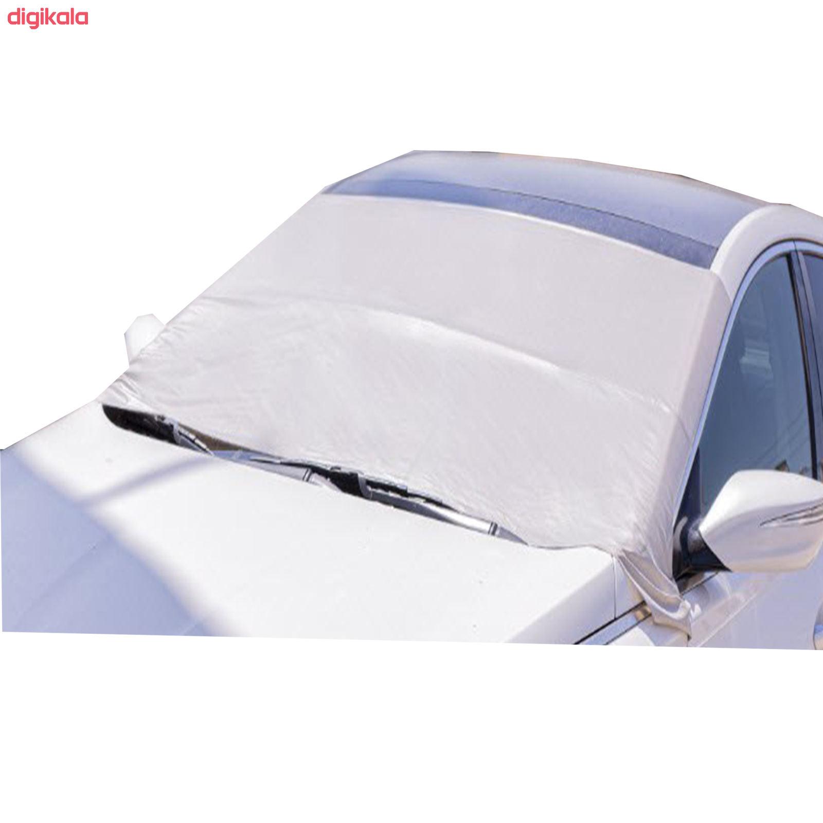آفتابگیر شیشه جلو خودرو بابل مدل تانیک main 1 6