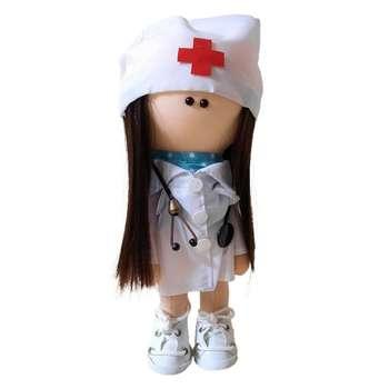 عروسک طرح دختر روسی مدلپرستار ارتفاع 30 سانتی متر