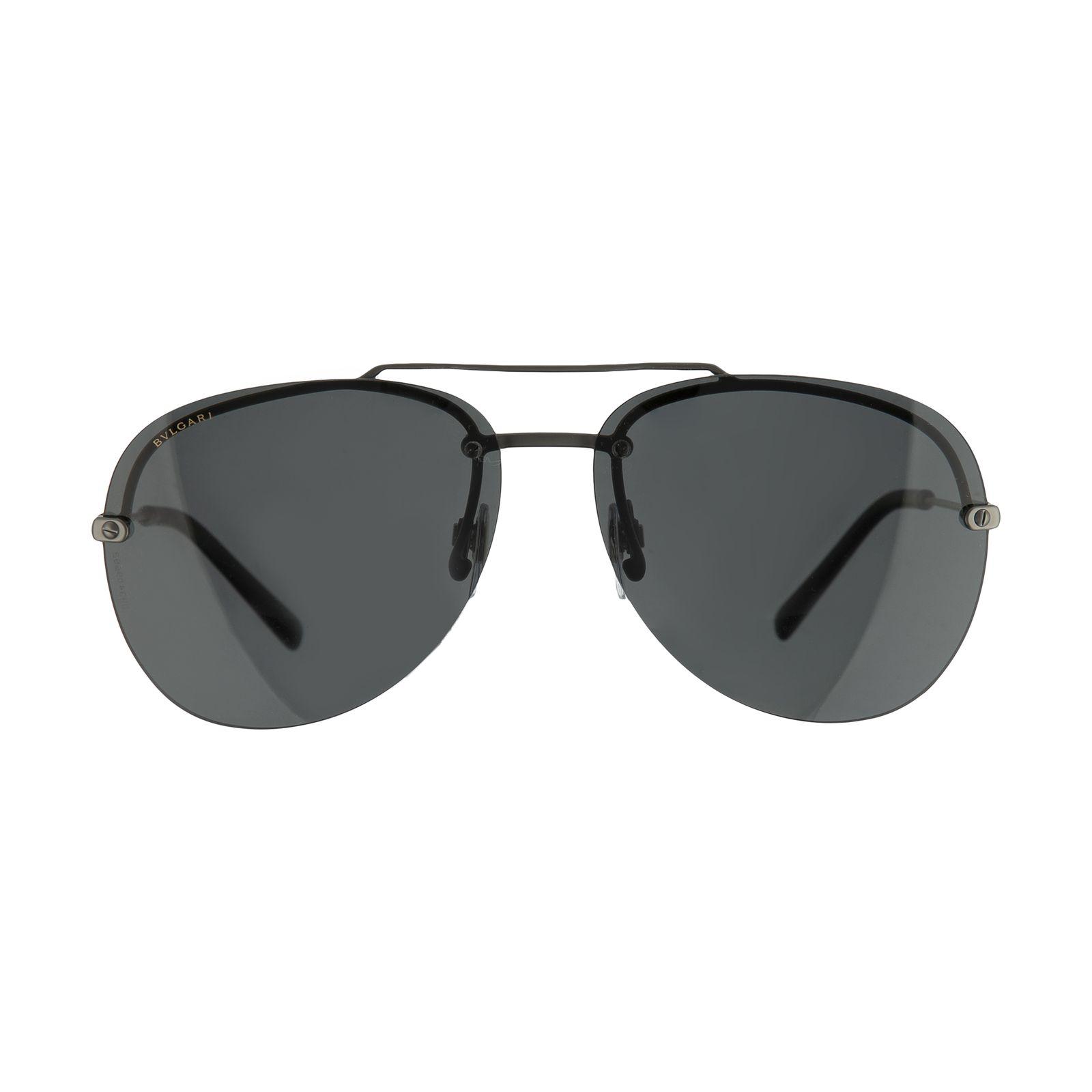 عینک آفتابی مردانه بولگاری مدل BV5044S 19581 -  - 2