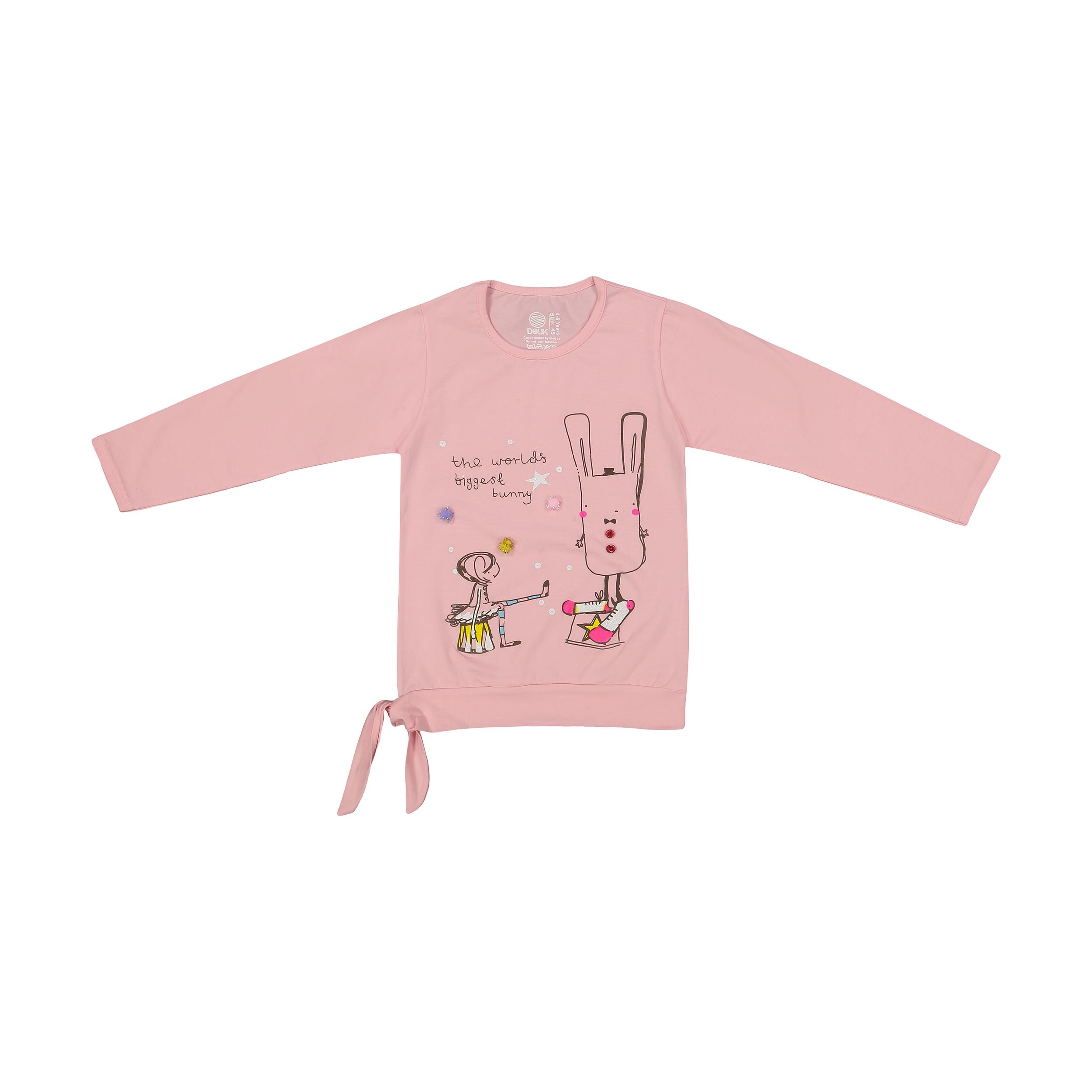 تی شرت دخترانه سون پون مدل 1391358-21