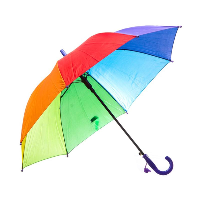 چتر طرح رنگین کمان کد 002