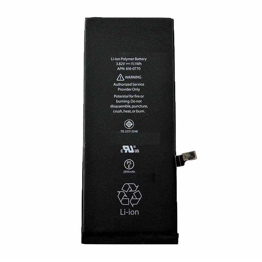 باتری موبایل مدل Apn 616-0770 ظرفیت 2915 میلی آمپر ساعت مناسب برای گوشی موبایل اپل IPHONE 6S PLUS
