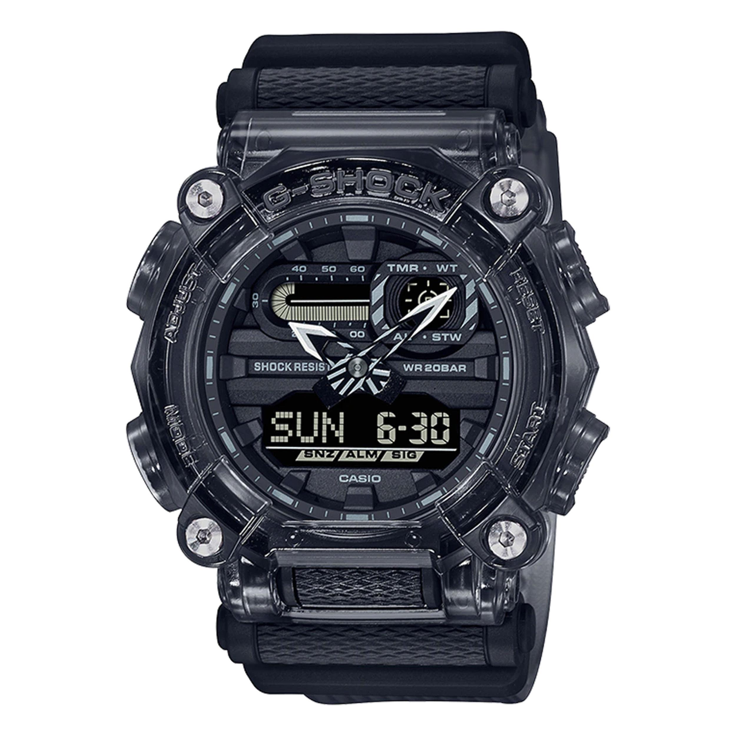 ساعت مچی عقربهای مردانه کاسیو مدل GA-900SKE-8ADR