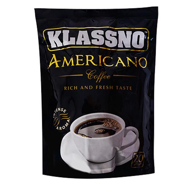 قهوه فوری americano کلاسنو بسته 20 عددی
