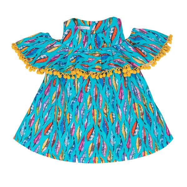 پیراهن دخترانه فیورلا مدل 31007