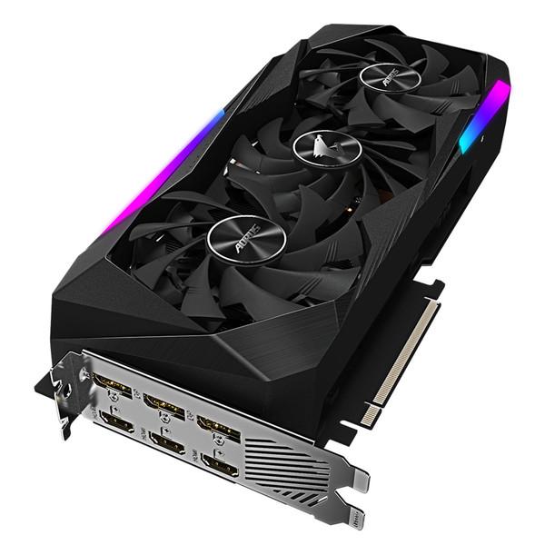 کارت گرافیک گیگابایت مدل AORUS GeForce RTX™ 3070 MASTER 8G
