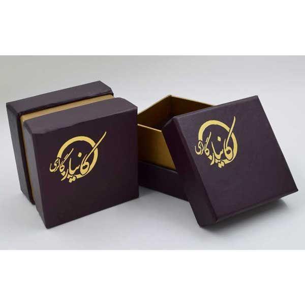 گوشواره طلا 18 عیار زنانه کانیار گالری کد GOA110 -  - 6