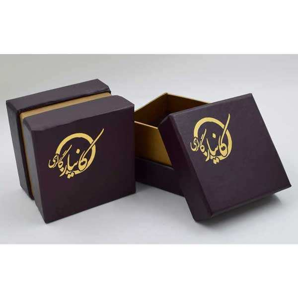 گوشواره طلا 18 عیار زنانه کانیار گالری کد GOA112 -  - 5
