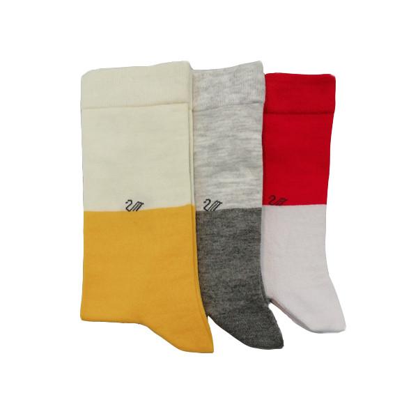 جوراب مردانه ال سون کد 1.PH452 مجموعه 3 عددی