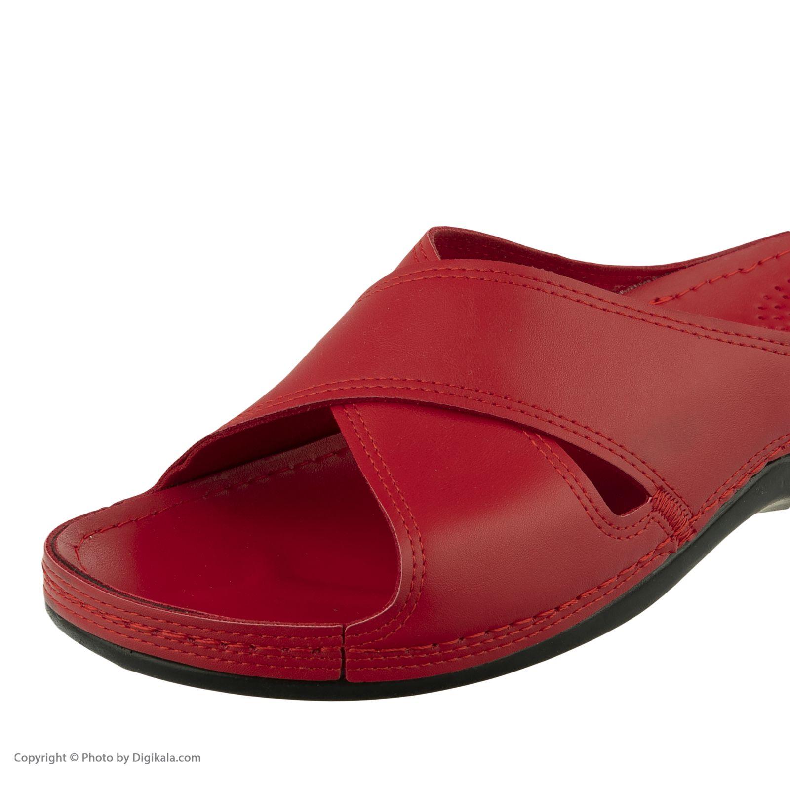 دمپایی زنانه کفش آویده کد av-0304506 رنگ قرمز -  - 3