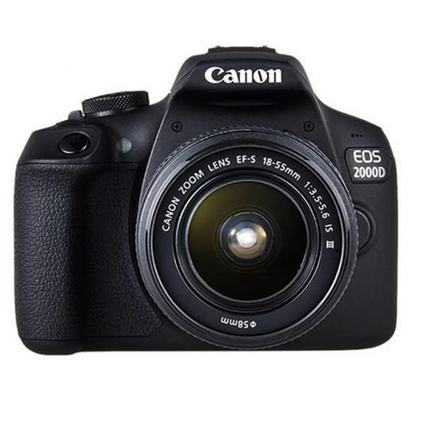 دوربین عکاسی کانن مدل EOS 2000D به همراه لنز 18-55 DC III