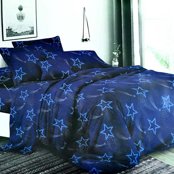 سرویس خواب مانیکاهوم مدل آسمان شب دونفره 4 تکه