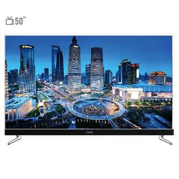 تلویزیون ال ای دی هوشمند ایکس ویژن مدل 50XKU575 سایز 50 اینچ