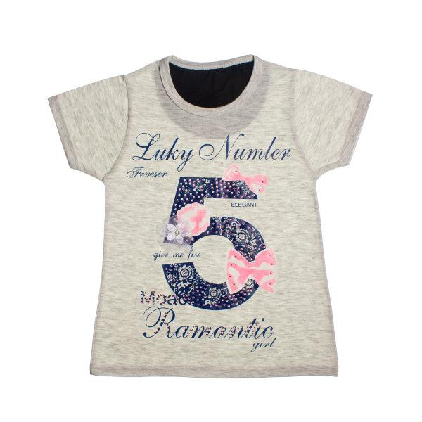 تی شرت دخترانه کد 5