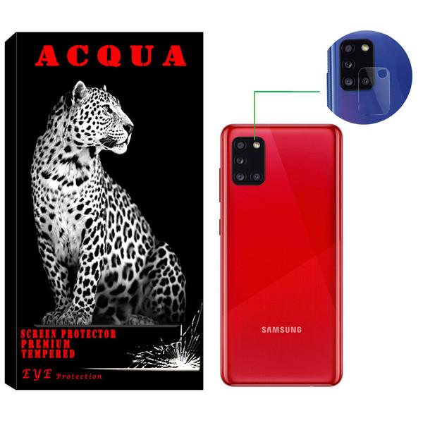 محافظ لنز دوربین آکوا مدل LN مناسب برای گوشی موبایل سامسونگ  Galaxy A31
