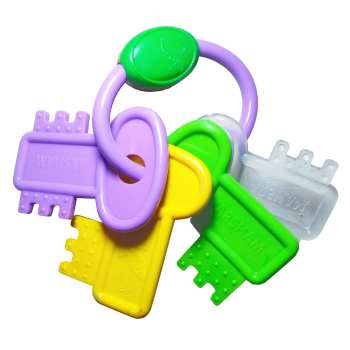 دندان گیر کودک مدل طرح دسته کلید کد DBS_10518