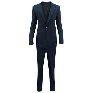 کت و شلوار مردانه مدل جودون کش رنگ آبی نفتی