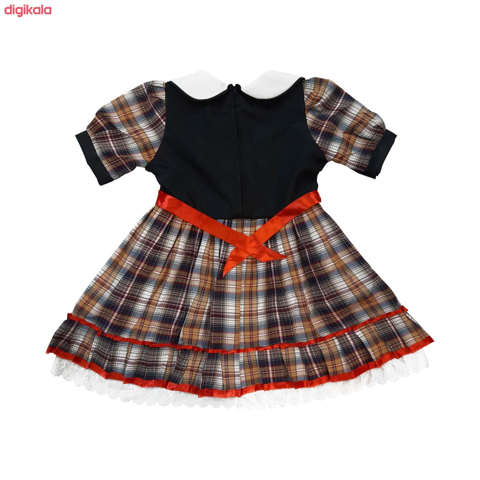 ست پیراهن و کیف دخترانه کد DC1 main 1 1