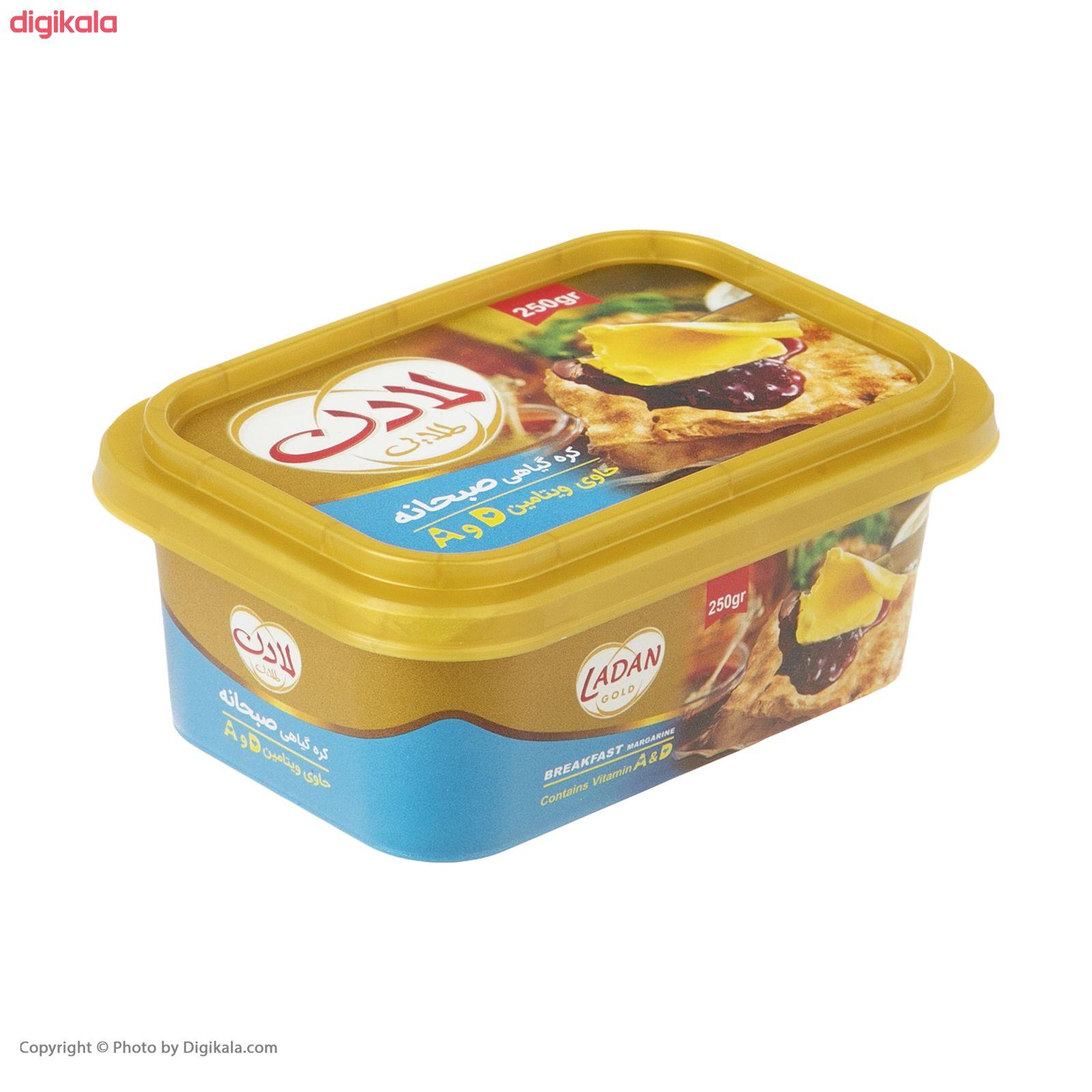 کره گیاهی صبحانه لادن - 250 گرم  main 1 4