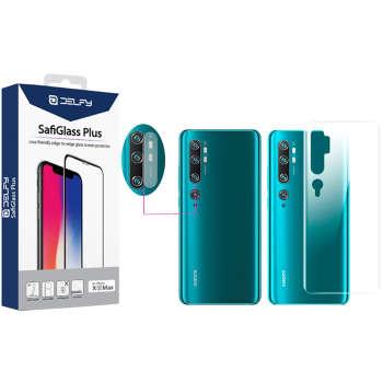 محافظ پشت گوشی مدل Delfy مناسب برای گوشی موبایل شیائومی Mi CC9 Pro / Mi Note 10 Pro / Mi Note به همراه محافظ لنز