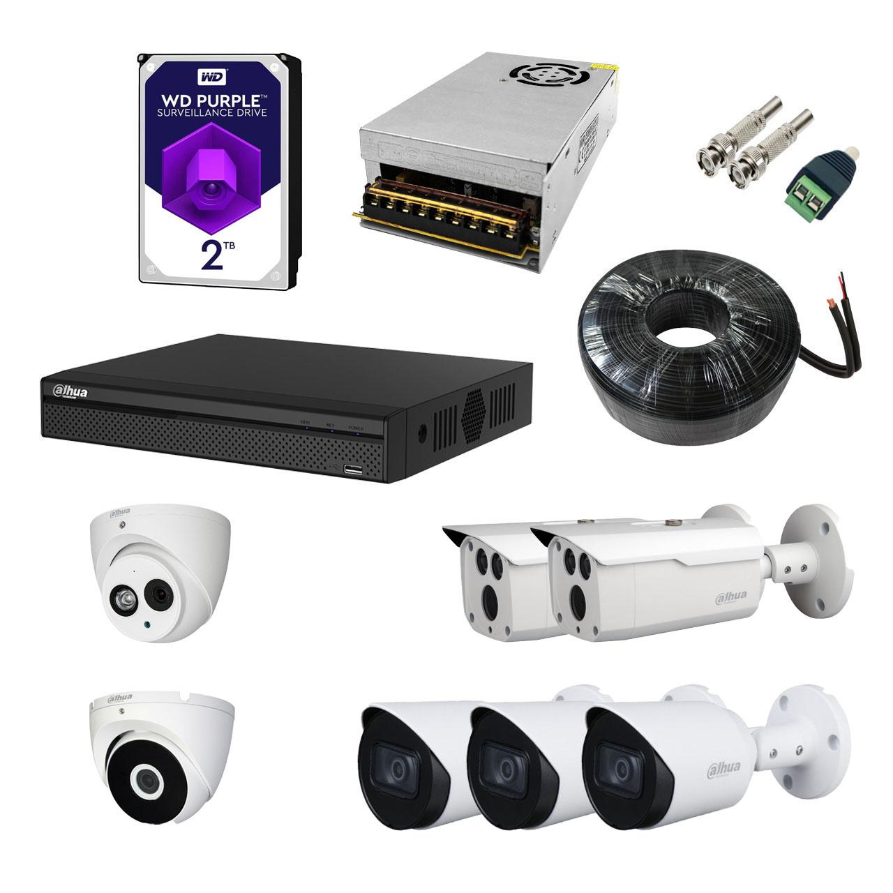 بررسی و خرید [با تخفیف]                                     سیستم امنیتی داهوا مدل DP72S2512-N                             اورجینال