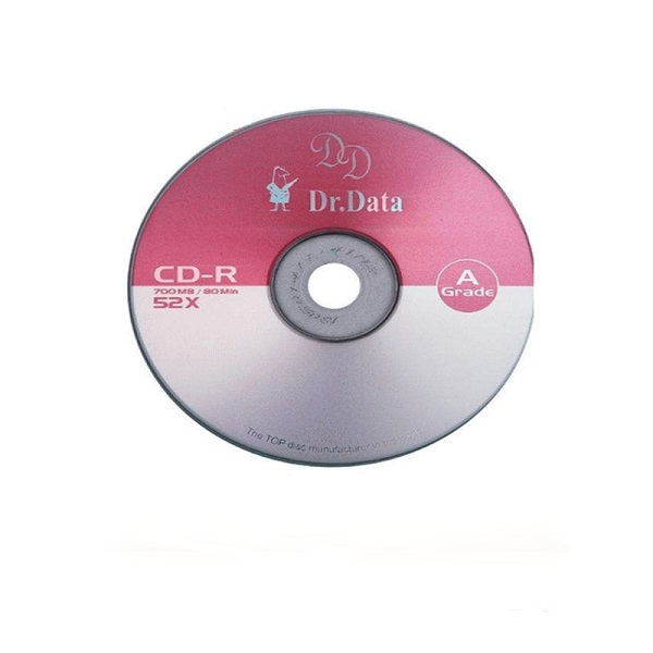 سی دی خام دکتر دیتا مدل D.d بسته 50 عددی