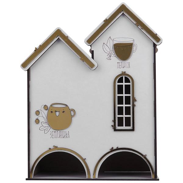 جعبه چای کیسه ای طرح کلبه کد S2