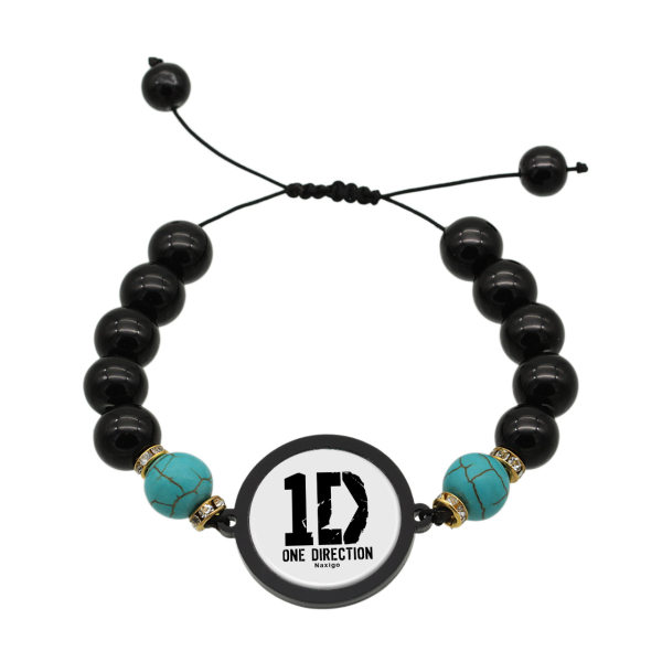 دستبند زنانه ناکسیگو طرح One Direction کد BR4323