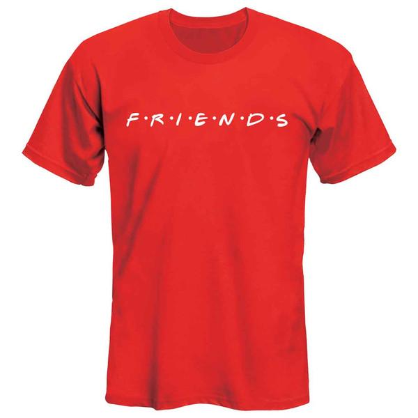 تی شرت آستین کوتاه زنانه طرح Friends مدل 36142